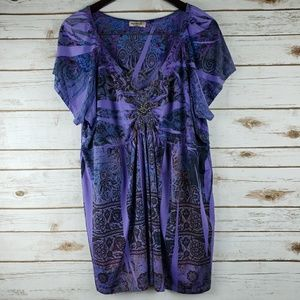 ONE WORLD top size 3x